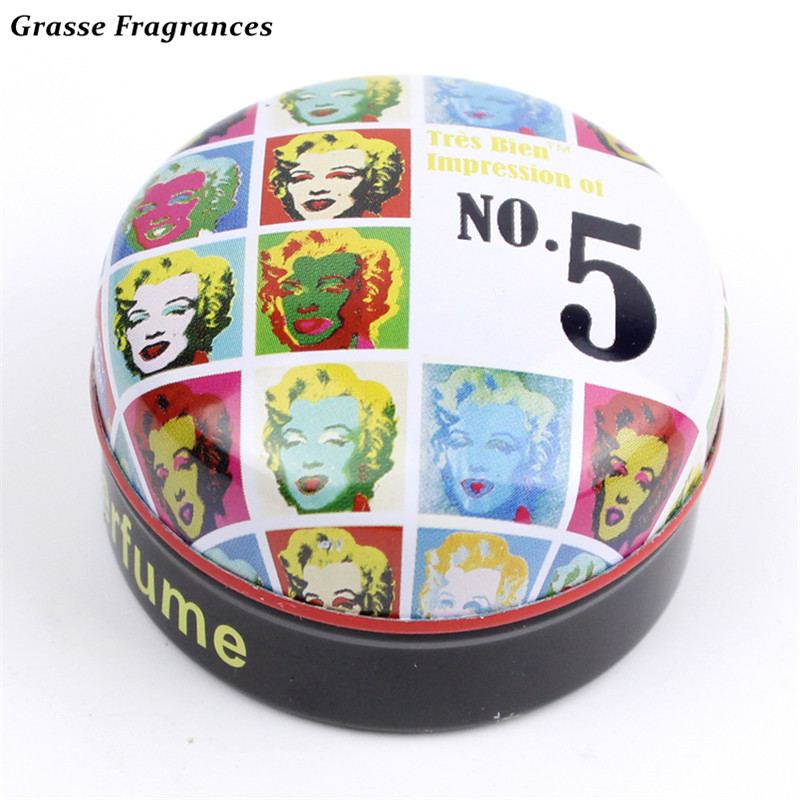Grasse Fragrances 1 PCS Original Magic Solid Parfum Femme Protable Solid Perfumes and Fragrances Body Fragrant Perfume for Women(China (Mainland))