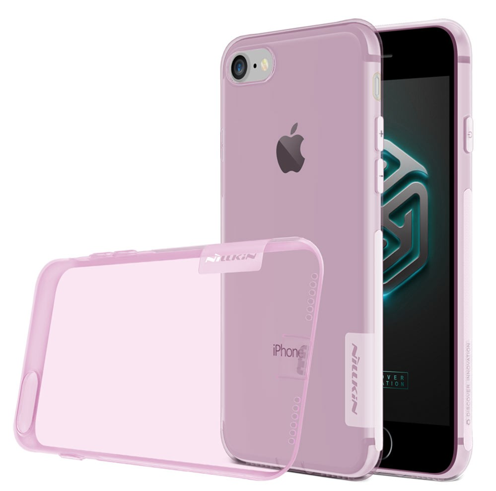 For Apple iPhone 7 TPU Case, NILLKIN Ultra Thin Transparent Nature Silicone Case For iPhone 6 6S 4.7″ 0.6mm Clear TPU Soft Cove