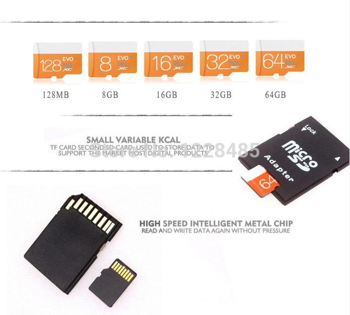 Гаджет  Real capacity GREAT high speed memory card 128mb2gb4gb8gb16gb32gb TF card card reader+ Micro sd card +adapter micro sd T4 None Компьютер & сеть