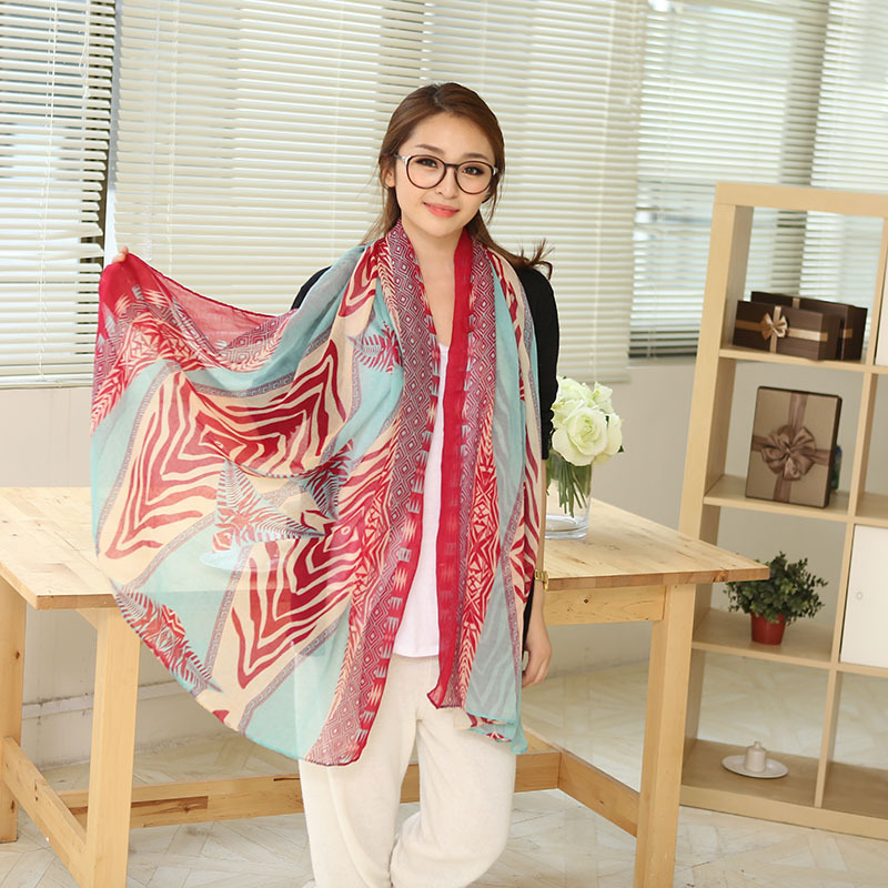 3 Colors vintage large square animal wing print scarves long scarf for woman soft warm shawl Free shipping(China (Mainland))