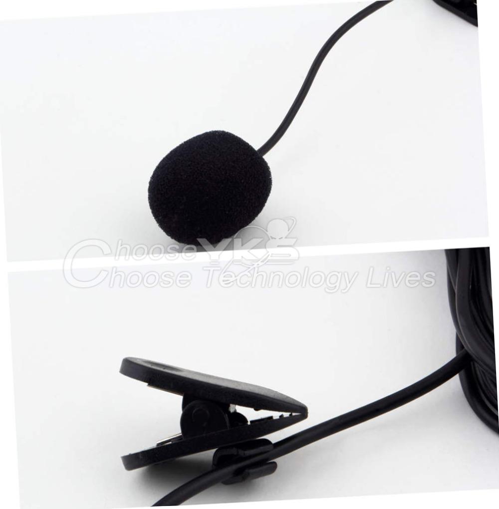 1Pcs 30Hz 15000Hz Mini 3 5mm Tie Lapel Lavalier Clip On Microphone for Lectures Teaching