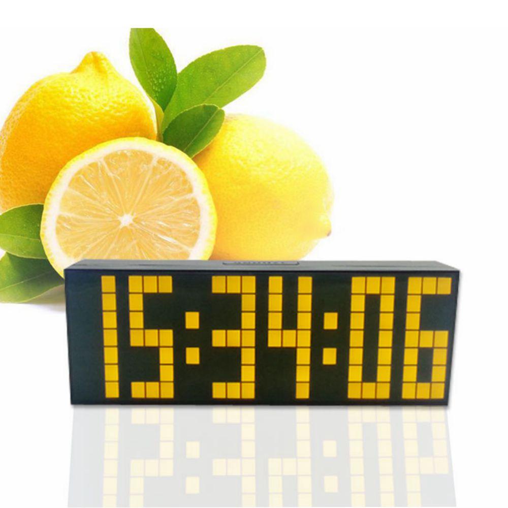 ... Wall Clock Digital Alarm Clock Snooze Calendar Time-in Alarm Clocks