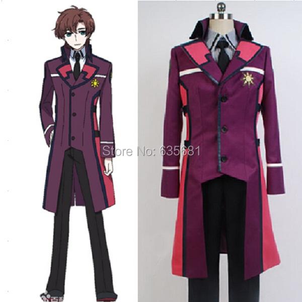 Cos Irregular Magic High School Masaki Ichijo Cosplay Costume Long Uniform Boy Students Clothing Set - Cosme Store store