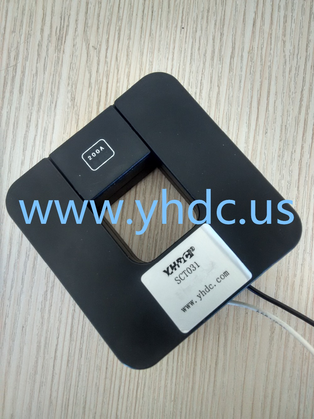 Free shipping SCT031 Current 0-300A Output 1A Suspension type 1:6000 660V Split Core Current Transformer AC Current Sensor(China (Mainland))
