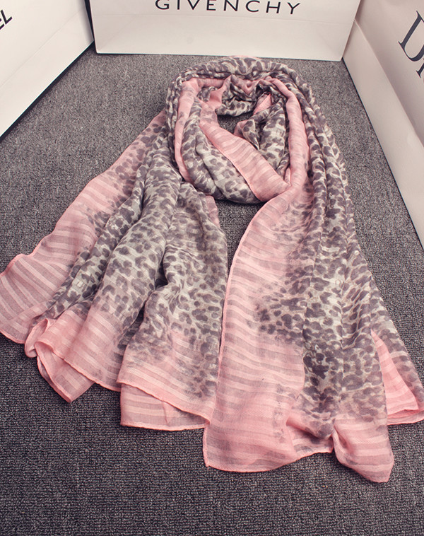Leopard scarf 2016 women Spain style bohemian sexy long pink Leopard print scarves pashmina shawl cape wrap muffler gifts(China (Mainland))