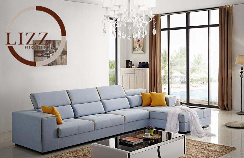 Nieuwe aankomst 2015 muebles bank voor de woonkamer set, moderne europese stijl stof hete verkoop lage prijs in de fabriek directe verkoop banken fabri(China (Mainland))