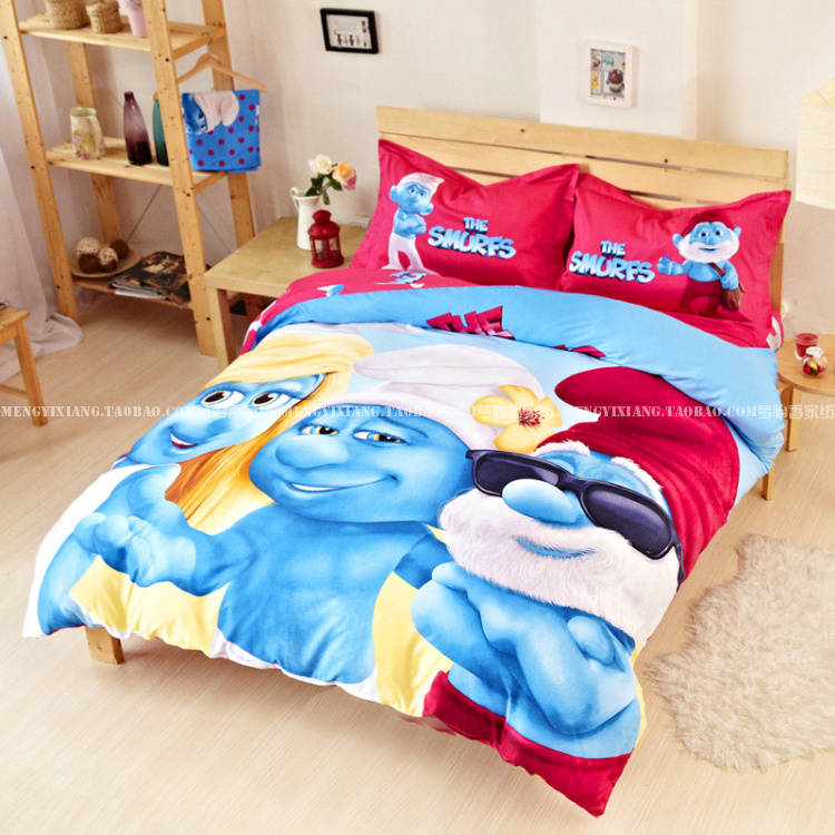 NEW!!Kids bedding set Twin Full Queen King Size Blue boys