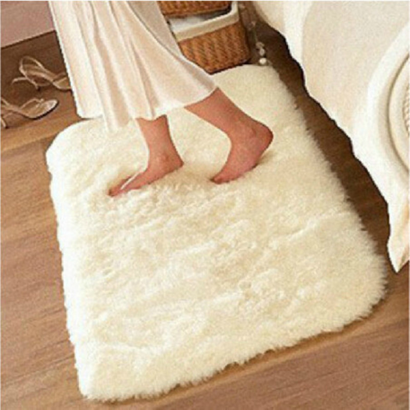 Anti skid Carpets Fluffy Rugs Shaggy Area Colorful Bedroom ...