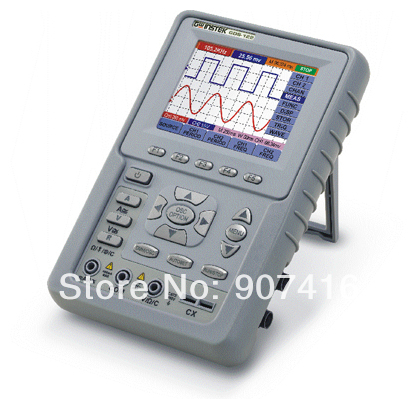 New TaiWan Gwinstek Digital Handheld Oscilloscope GDS-122 DSO,100MS/s Real-Time Sampling Rate, 20MHz, 2 channel,3.8 Color LCD<br><br>Aliexpress