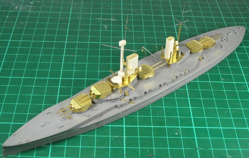 SS-models 700393 1/700 resin kit SMS Battleship Kronprinz Model Kit(China (Mainland))