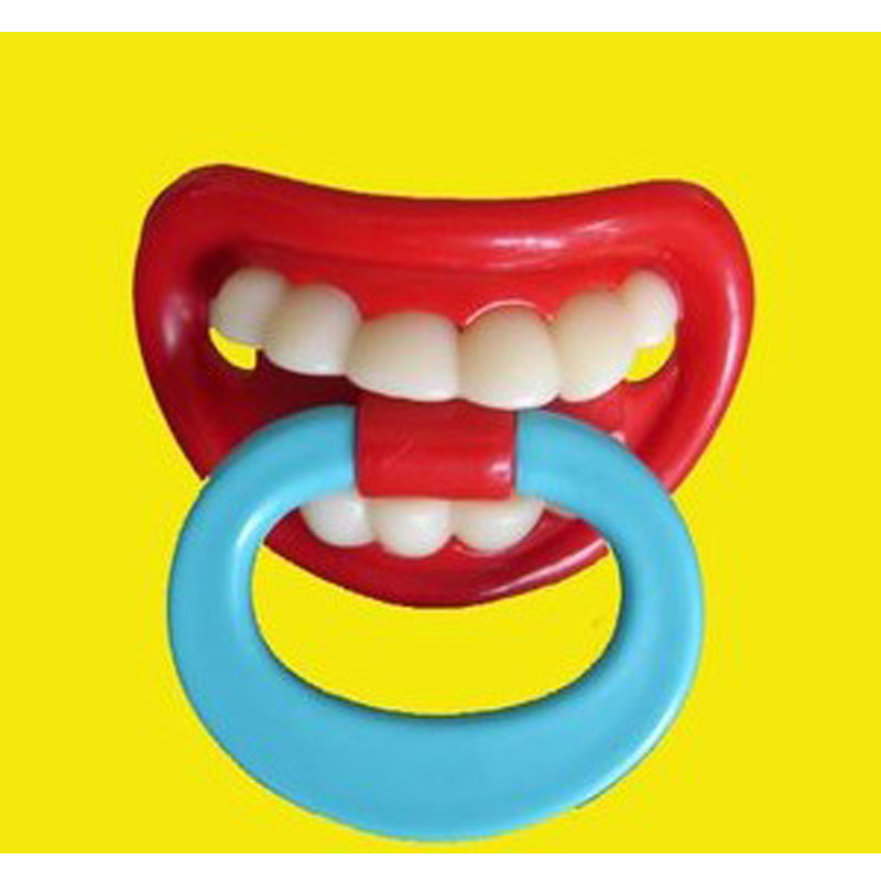 Baby Funny Pacifier Teether Nipple Baby Fashion Accessories Liquid Silicone Teat Dentures Silicone Pacifier Friendly Materia New(China (Mainland))