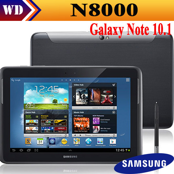 Black Friday Original Samsung Galaxy Note 10.1 N8000 Quad-core 16GB 1.4GHz Android 5MP camera Tablet PC cell phones refurbished(China (Mainland))