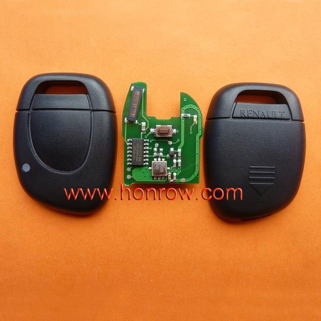 High quality and best price Renault Clio&Kango 1 button remote key with 433Mhz and ID46 Chip (After 2000 year car)