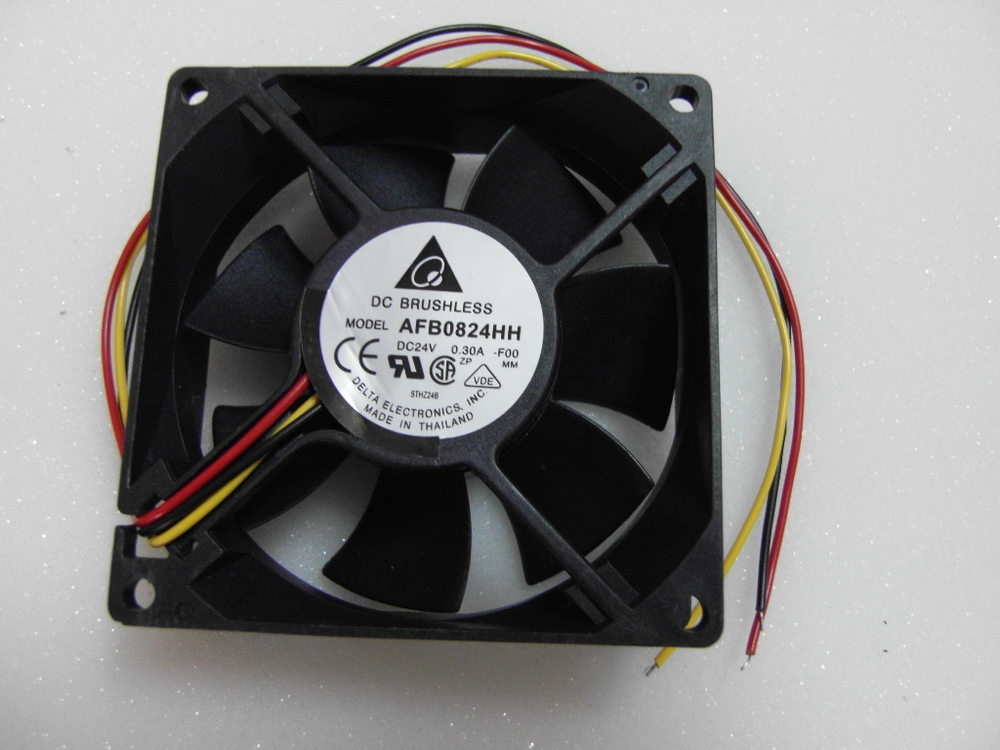 Free Shipping!DELTA Delta blower fan blower AFB0824HH 8025 24v 3-wire DC fan(China (Mainland))