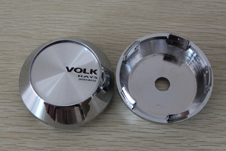 68mm/65mm JAPAN RAYS VOLK Sticker Wheel Center Caps Emblem Cover Hub Cap - SIXTH POWER store