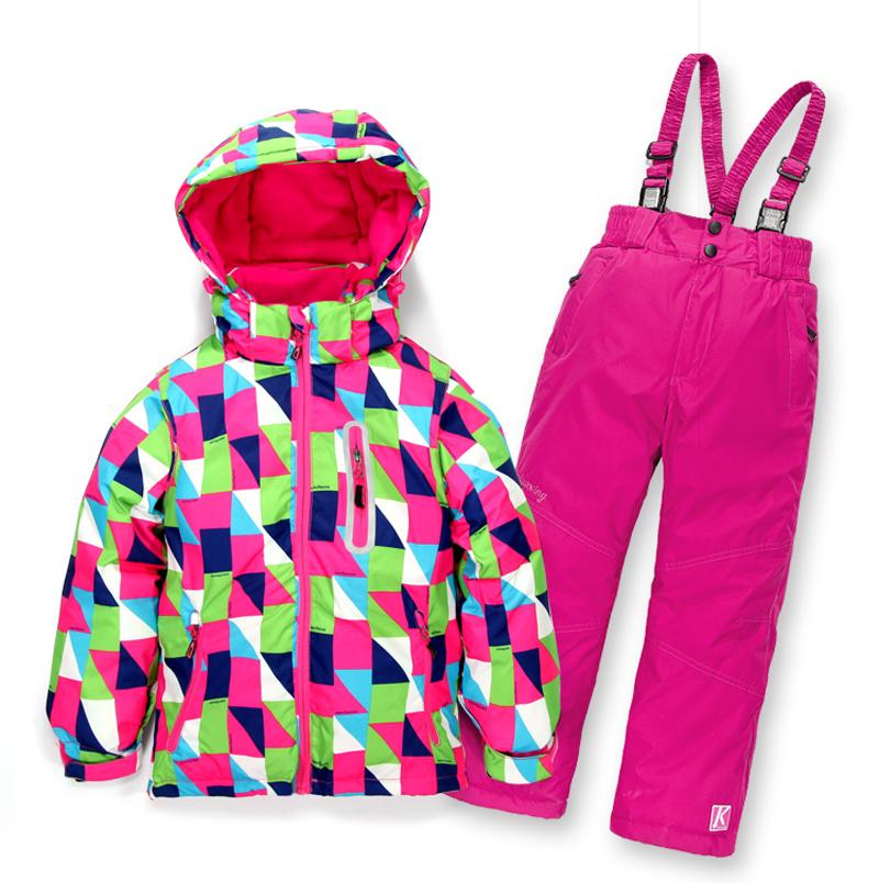 Minus 30 Degrees Children Outerwear Warm Coat Sporty Ski Suit Kids Clothes Set Waterproof Windproof Boys Girls Jackets For 5-14T<br><br>Aliexpress
