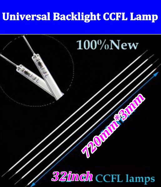 25PCS Free shipping via DHL/EMS NEW30pcs 32 inch TV LCD CCFL 720 mm*3 mm LCD Backlight Lamp Cold cathode fluorescent lamps 720mm(China (Mainland))