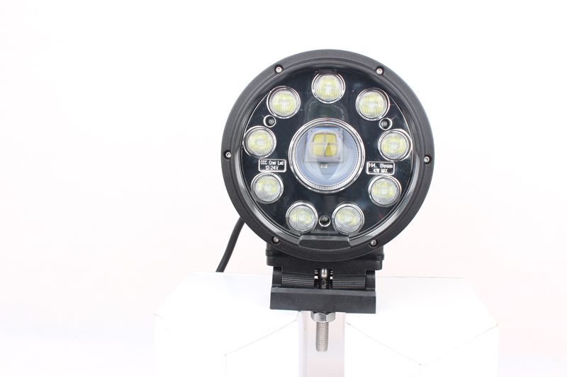 Фотография LED Offroad Work Drive Lights Lamp Spot/Flood beam CREE 6Inch 42W For SUV AUTO Truck Boat hunting 12V 24V