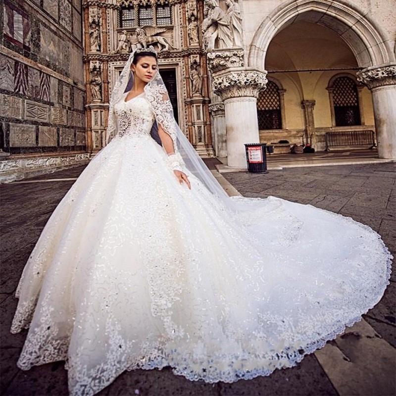 Royal Train Wedding Dresses - Junoir Bridesmaid Dresses
