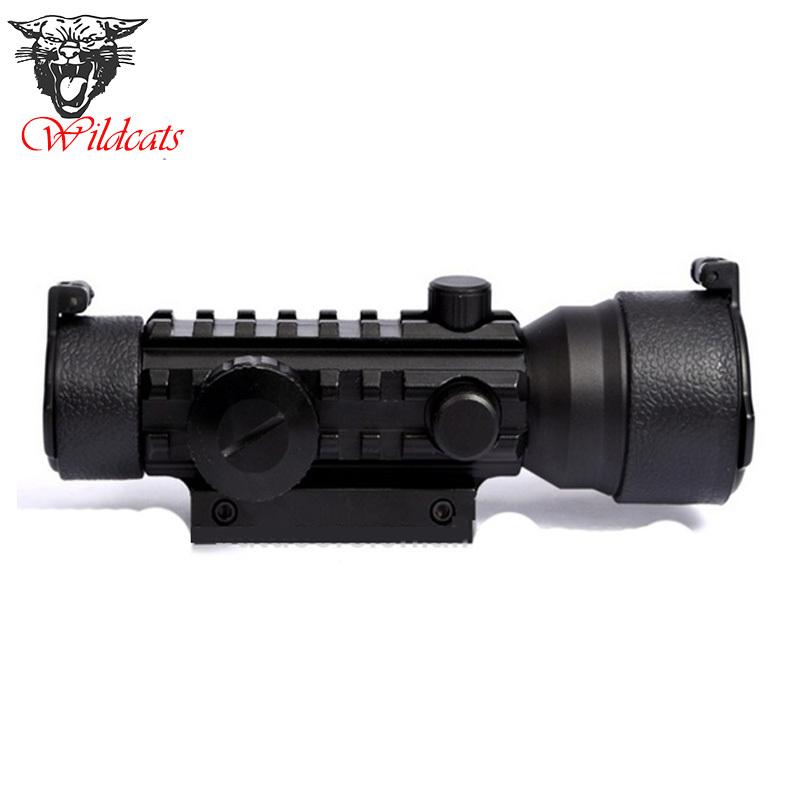 Tactical 2x42EG Dot Sight Range Finder Rifle Scope <br><br>Aliexpress