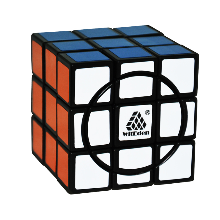 WitEden Crazy 3x3x3 Cube Speed Magic Cube Rotational Twisty Puzzle Cubes Special Educational Toys(China (Mainland))