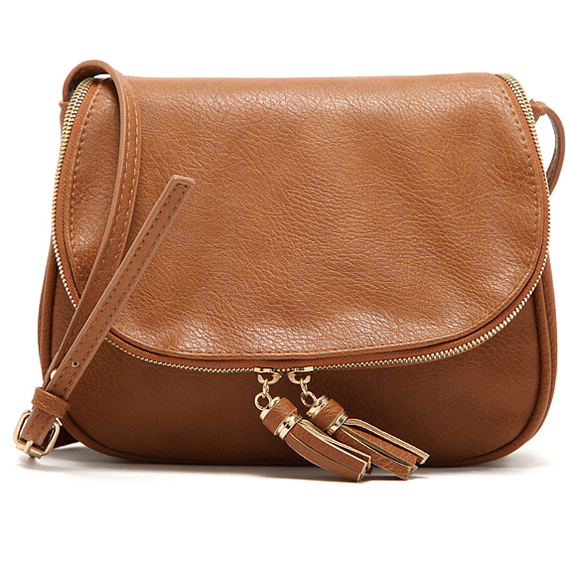 PU Leather Designer Tassel Women bag Leather Handbags Cross Body Shoulder Bags Fashion Messenger Bag Bolsas femininas XB156(China (Mainland))
