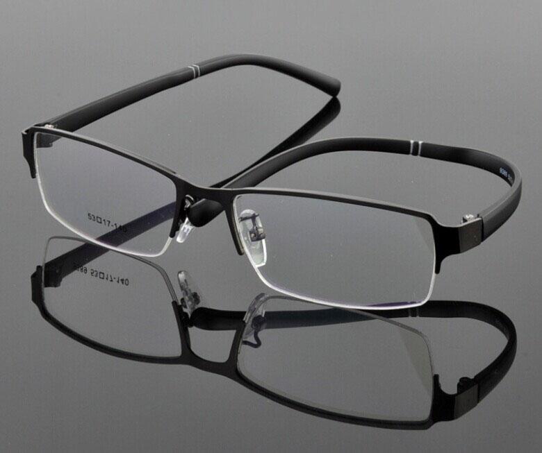 Eyeglass Frames Half Rim : Wholesale famous brand designer spectacle eyeglasses metal ...