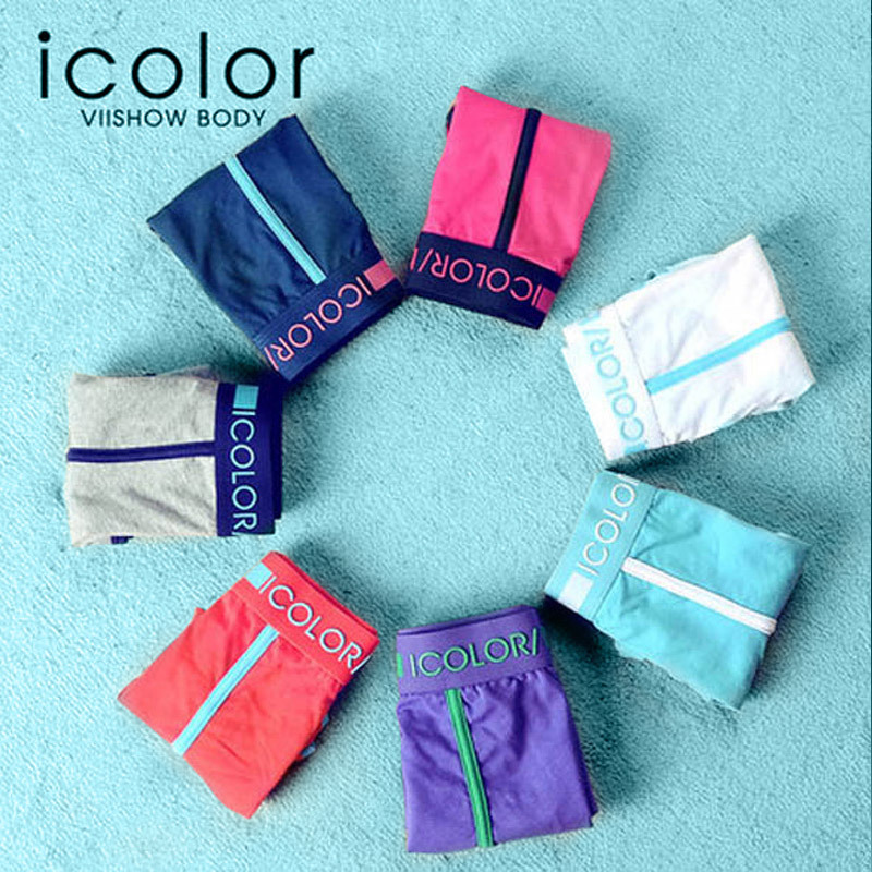 Free Shipping I COLOR High quality Solid Cotton Mens Underwear Boxers 7pcs/lot 7 Colors Comfortable Underwear Boxer QD014Одежда и ак�е��уары<br><br><br>Aliexpress