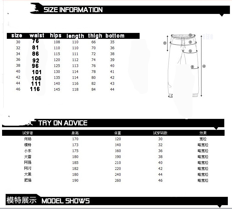 American Style Brand Mens Baggy Jeans Loose Plus Big Size Jeans Men Hip Hop Jeans Long Skate Board Jean Harem Pants MB17085