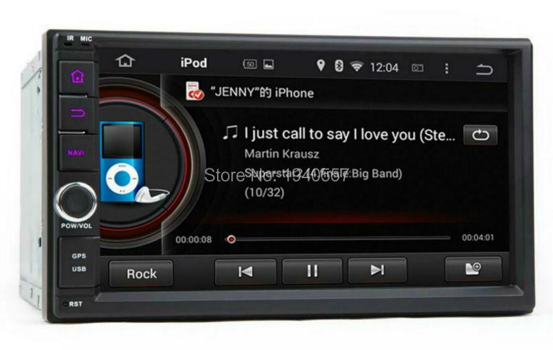 Universal 2 din Android 5.1 Quad Core Car PC Radio GPS Navigation With 16GB ROM 3G WIFI Bluetooth IPOD TV USB + free 8GB card(China (Mainland))