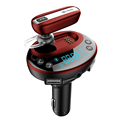 Lonleap Bluetooth 4 0 Car Kit Handsfree AUX Car Mp3 Player 3 1 A Car Charger
