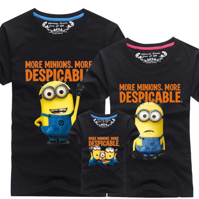 2016 новое семейство взгляд футболки 13 цветов лето семья соответствующие одежды ...