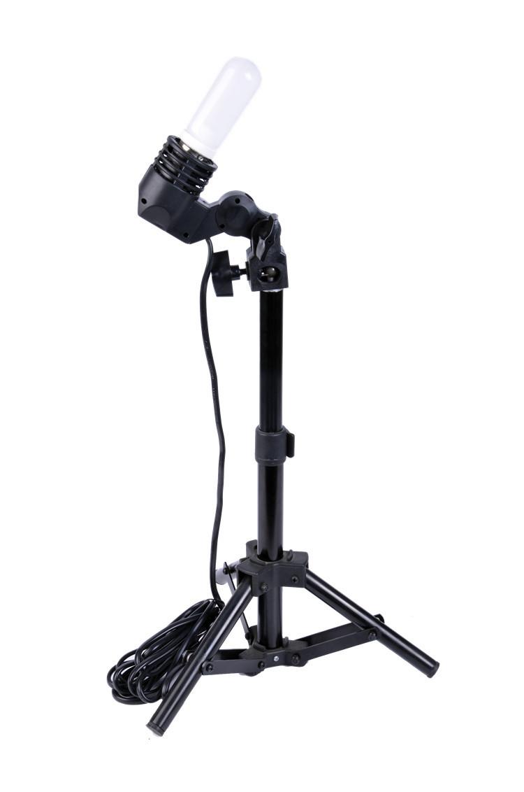Photographic Equipment E27 Single Head Photo Lighting Bulb Holder Flash Umbrella Bracket Photography Studio Light Fitting VL-E27