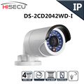 English Version IP camera 4MP Bullet Security Camera with POE Network camera DS 2CD2042WD I Video