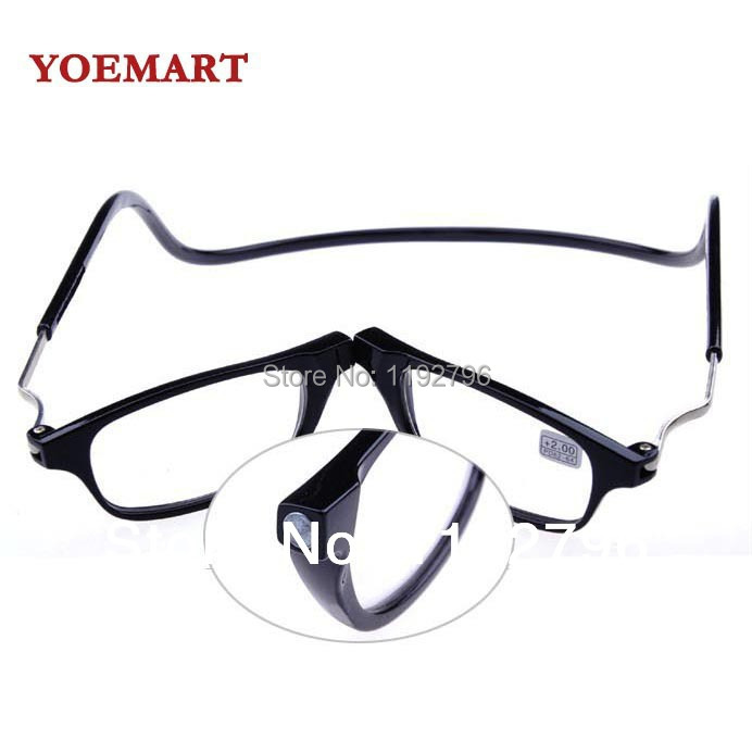 2014 new magnetic reading glasses with diopter 1 0 1 5