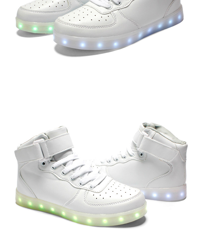 wholesale cheap led luminous neon basket casual shoes women & men high glowing with charge lights up simulation sole for adults