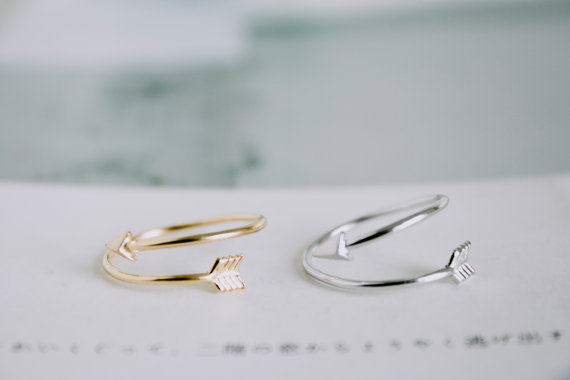 New 2013 fashion jewelry cute Arrow finger ring stretch rings for women ladies knuckle ring wholesale 30pcs lot<br><br>Aliexpress