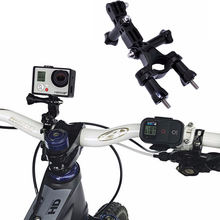 Buy Gopro Bicycle Mount Bike Handlebar Seatpost Tripod Holder Gopro Hero 5 4 3+ SJCAM SJ4000 Xiaomi Yi 4K h9 Camera for $1.50 in AliExpress store
