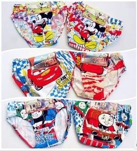 Wholesale 6pcs/lot new baby children underwears famous cartoon character Underewears,Kids Underwear,boy's underwear(China (Mainland))