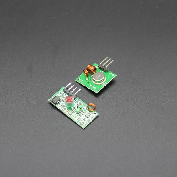 RF wireless receiver module & transmitter module board Ordinary super- regeneration 315/433MHZ DC5V (ASK /OOK) for arduino(China (Mainland))