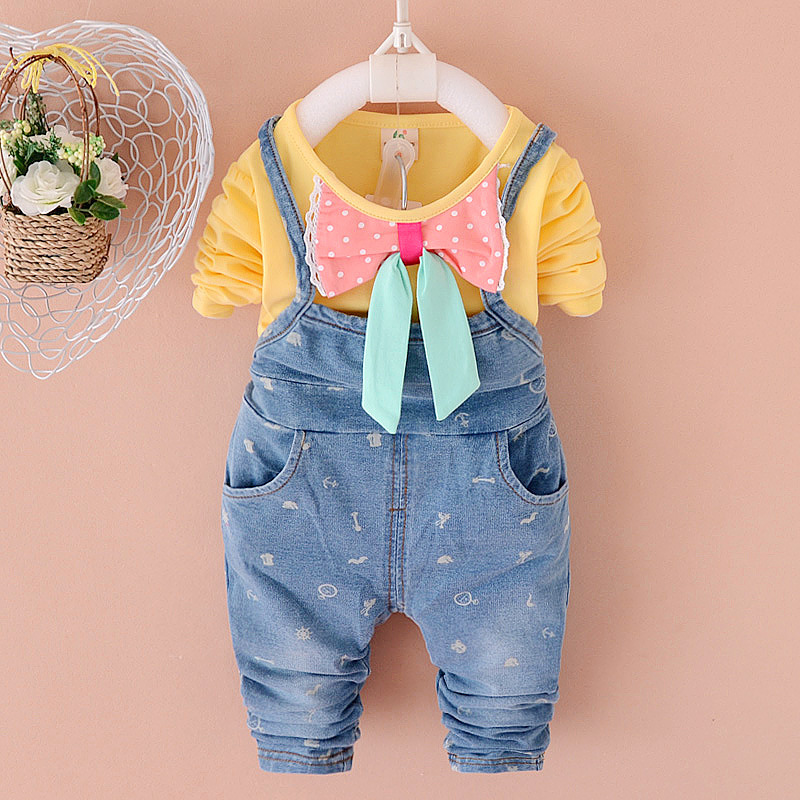2015 minions baby girl clothes/children clothing peppa pig butterfly knot kid dress carters vestidos infantil froze ROE1015-4(China (Mainland))
