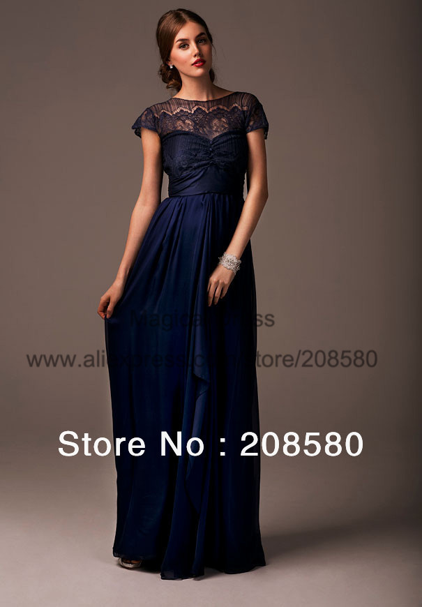 Image Result For Navy Blue Lace Dress For Wedding