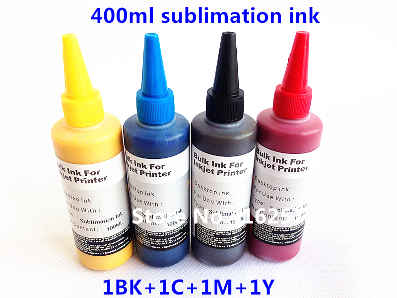 Hot 400ml Sublimation transfer paper ink Ink for Epson WorkForce WF-2530 WF-2540 WF-2630 WF-2650 WF-2660 for cloth phone cases(China (Mainland))
