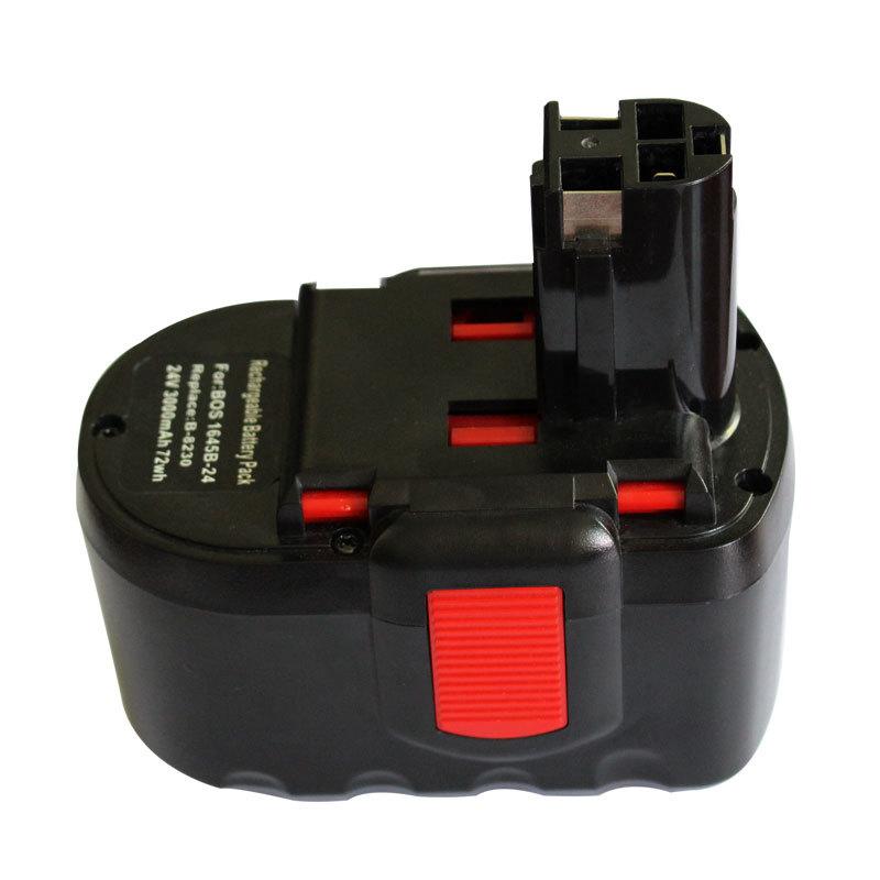 Free Shipping 24V 1.5 AH Ni-CD Rechargeable Battery For Bosch BAT030 BAT031 BAT240 BAT299(China (Mainland))