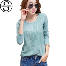 Buy Chemise Femme Cotton Women Blouses 2017 Womens Tops Embroidery Blouse White Shirt Long Sleeve Patchwork Korean Plus Size Blusa for $10.87 in AliExpress store