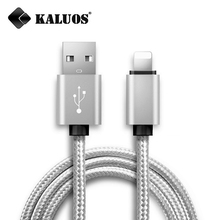 Buy KALUOS Colorful 20cm 100cm Mobile Phone Charger Cable 8-Pin USB Data Sync Charge Cable iPhone 5 5S 5C SE 6 6S 7 Plus iPad 4 for $1.80 in AliExpress store