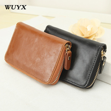 Buy WUYX Men Wallets Credit Card/ Id Card Holders Leather Purse Men Driver License Case Band Card/Business Card Holder Book for $9.48 in AliExpress store