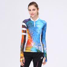 Buy Mountainpeak 2017 New Design Spring Summer Sport Jacket Partial Zipper Running Cycling Jersey Outdoor Long Sleeve T-shirt for $24.88 in AliExpress store
