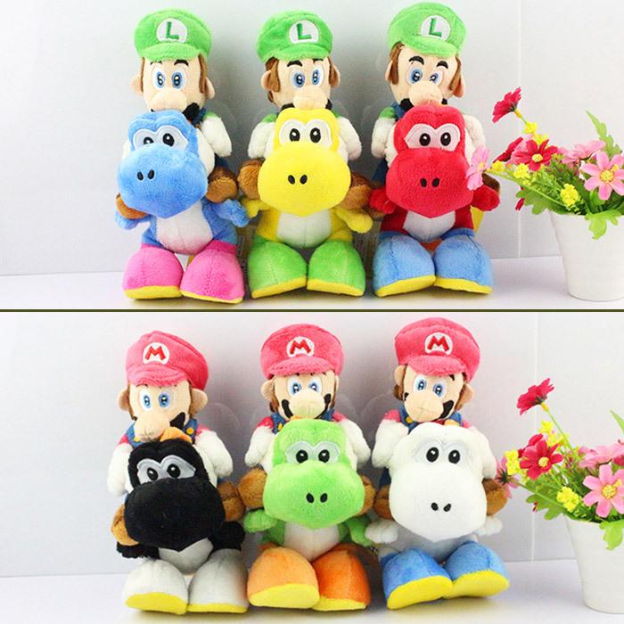 Hot 1PCS Super Mario Bros Plush - 167.8KB