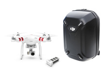 Original Dji Phantom 3 Standard High Quality FPV Camera Drone RC Helicopter with with Extra Battery and Hardshell Backpack
